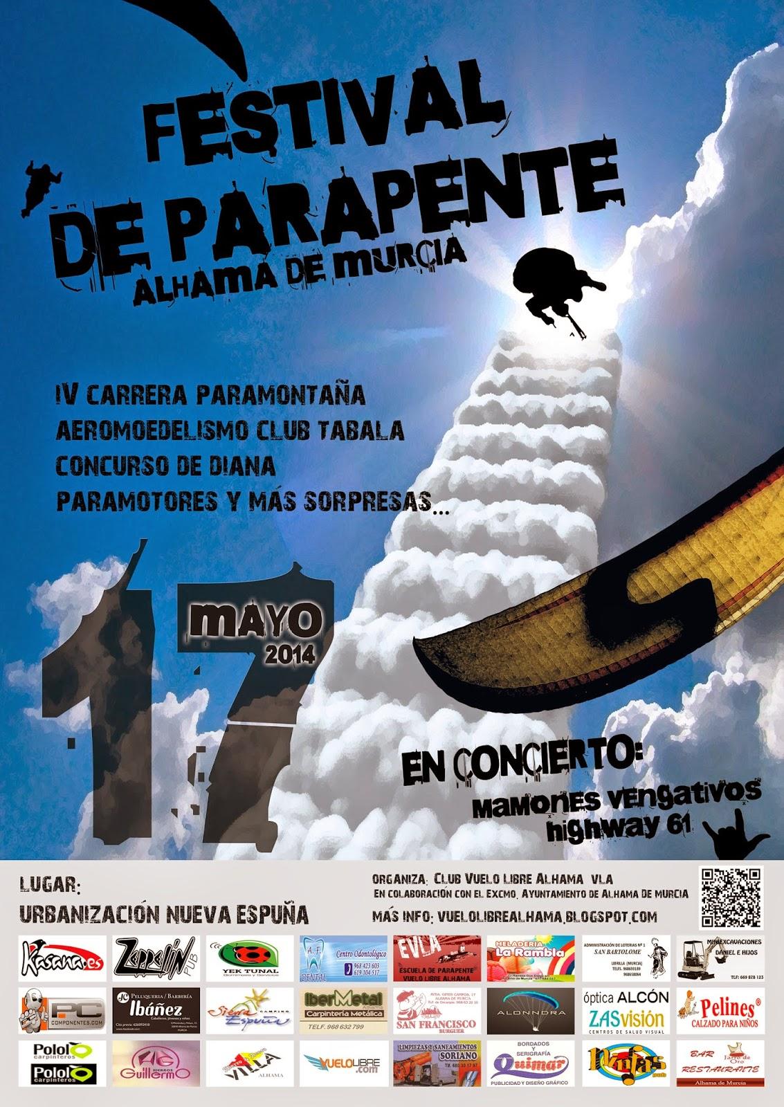 FESTIVAL DE PARAPENTE VLA-2014