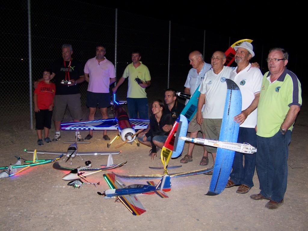 XIII Edición del Campeonato Nacional de Vuelos Nocturnos