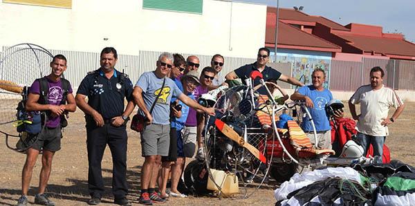 Crónica Vuelta a la Región de Murcia en Paramotor 2014