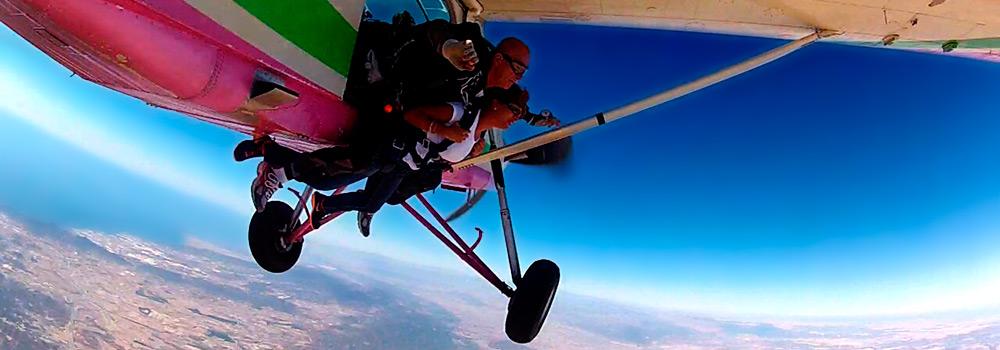 Promoción Especial ASPAMUR Skydive Costa Cálida para Federados FAMUR