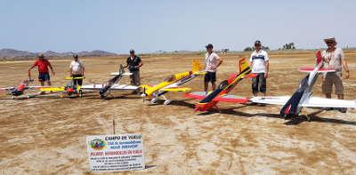 Perfeccionamiento de vuelo acrobático de Aeromodelismo