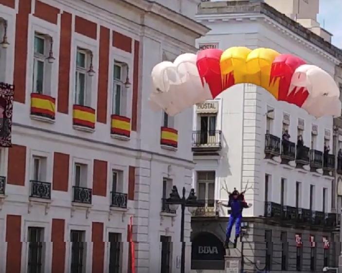 Exhibición de la PAPEA en la celebración del día de la comunidad de Madrid