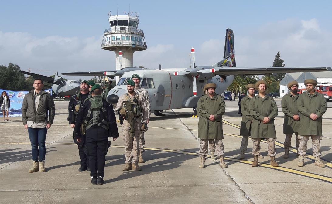 72 Aniversario Primer lanzamiento paracaidista en España