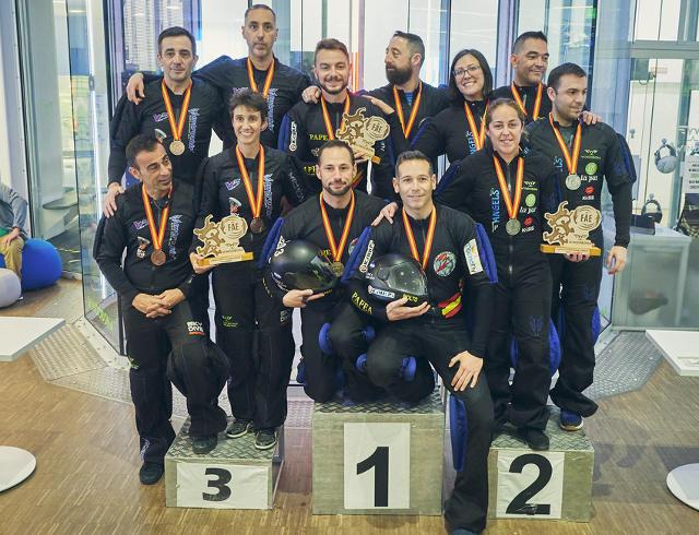 Papea Campeón de España VF4 Indoor 2020