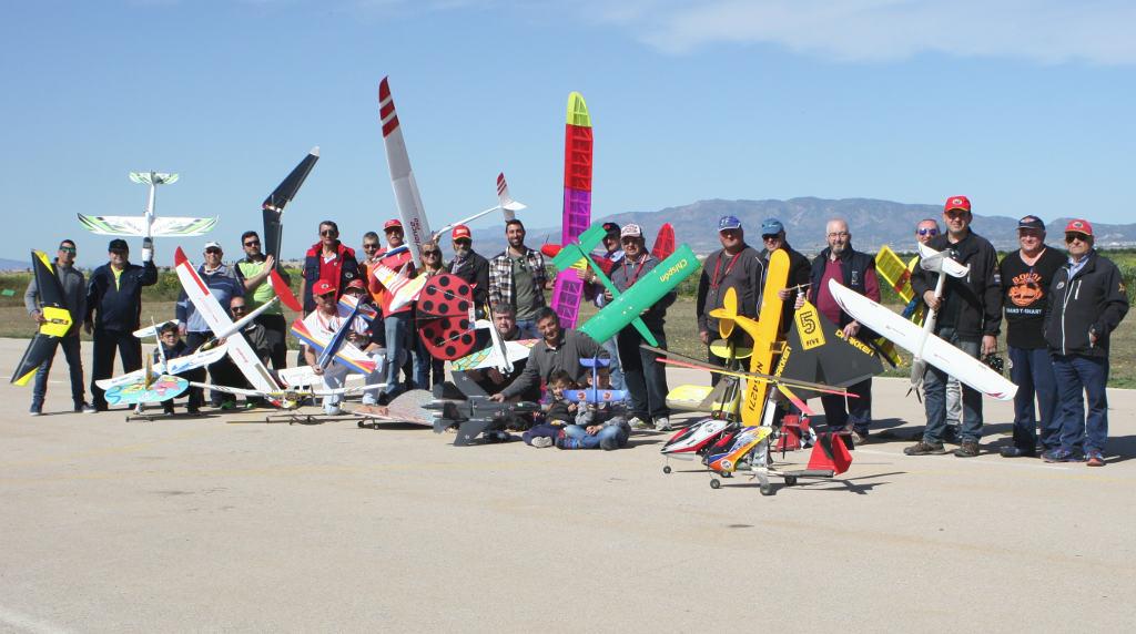 Celebrdo el VII Campeonato de Aeromodelos eléctricos
